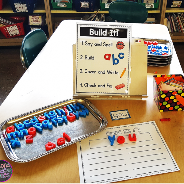 Storage Solutions for Multisensory Word Work Materials