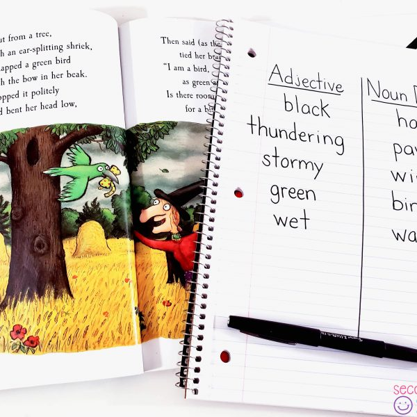 Fun Ideas for Teaching Adjectives in October