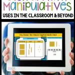 Base Ten Block Digital Math Manipulatives